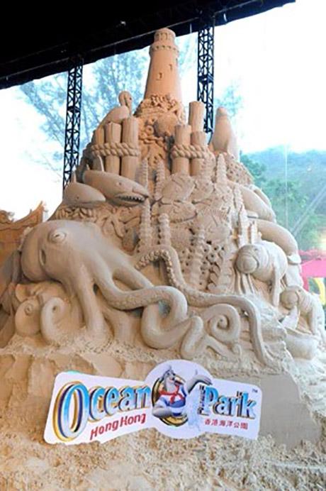原来全部都是「海洋公园高清动物月」的「沙雕同乐坊」之精致沙雕作品