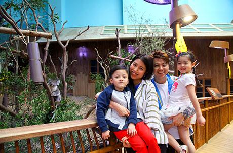 海洋公園 x 華懋集團 動物保育及家庭遊樂日
