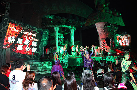 Photos 1 and 2: Ocean Park Halloween Bash 10th Anniversary has achieved great popularity