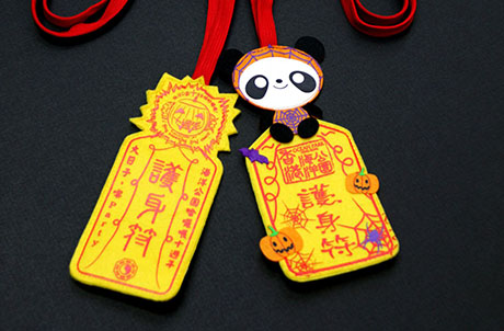 Photo 4: Popular souvenir items for Halloween Bash – amulets and devil-style animal plush