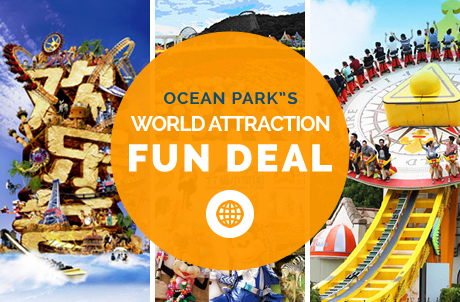 Ocean Park's World Attractions Fun Deals