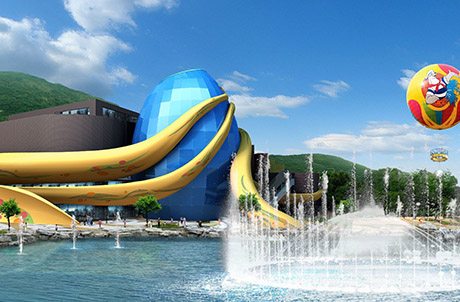Aqua City: expected opening in early 2011