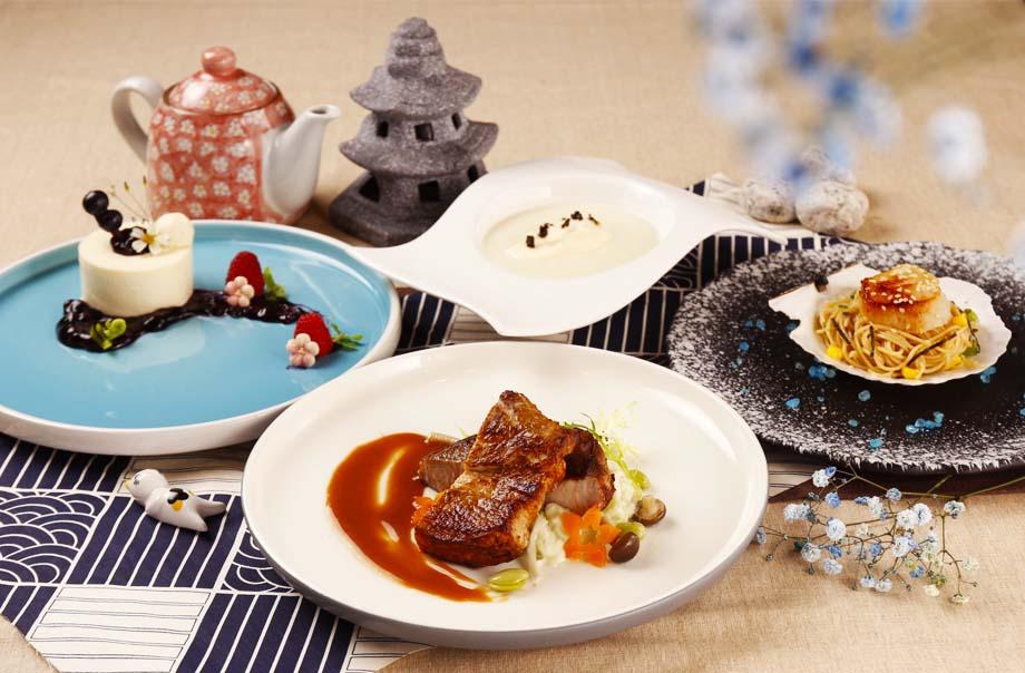 北海道の精选4道菜式套餐