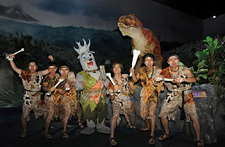 [Photo 4] The high tech attractions at Ocean Park Prehistoric Summer Splash 2009 become the talk of the town this summer