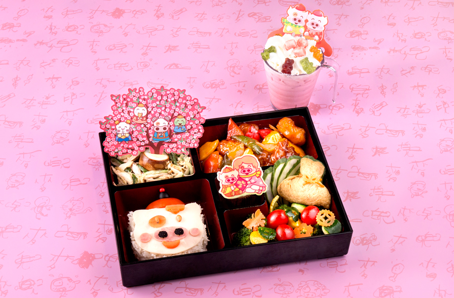 Adorable McDull New Year Bento Box