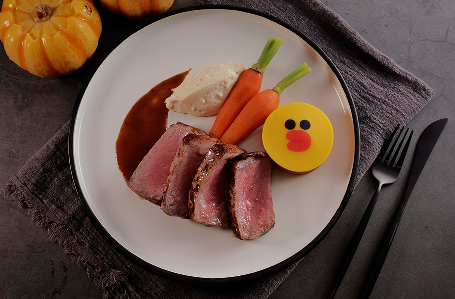 SALLY's Steak Halloween Feast