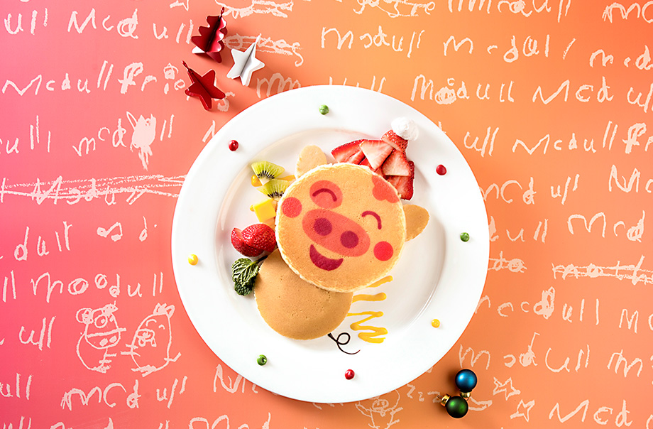 McDull Hot Cake with Fresh Fruits