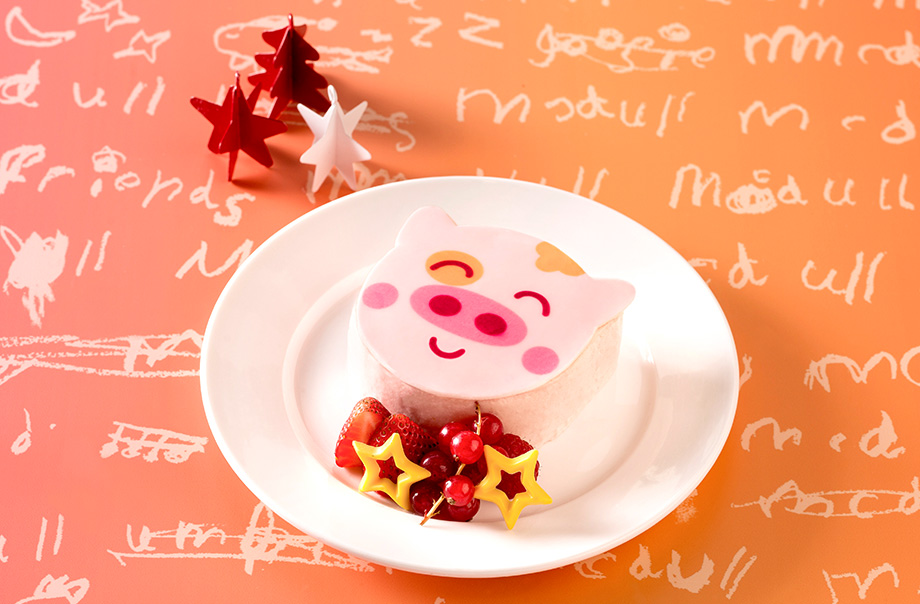 McDull Strawberry Mousse Cake