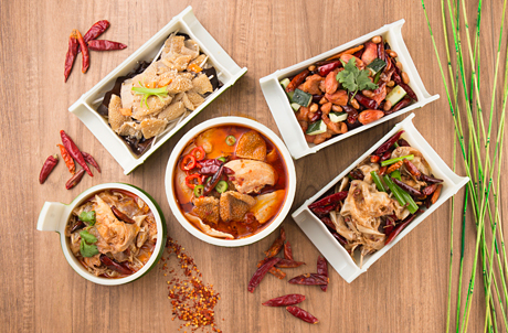 Dine Options Featuring Rare Sichuan Ingredients