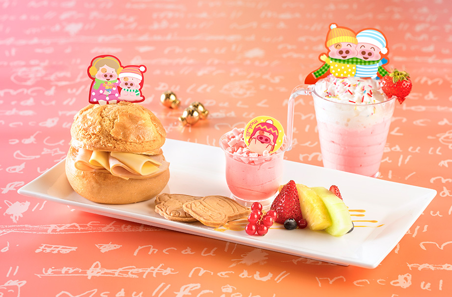 Snack Combo of McDull and Madam Mak (Available from 3:00pm - 5:00pm)
