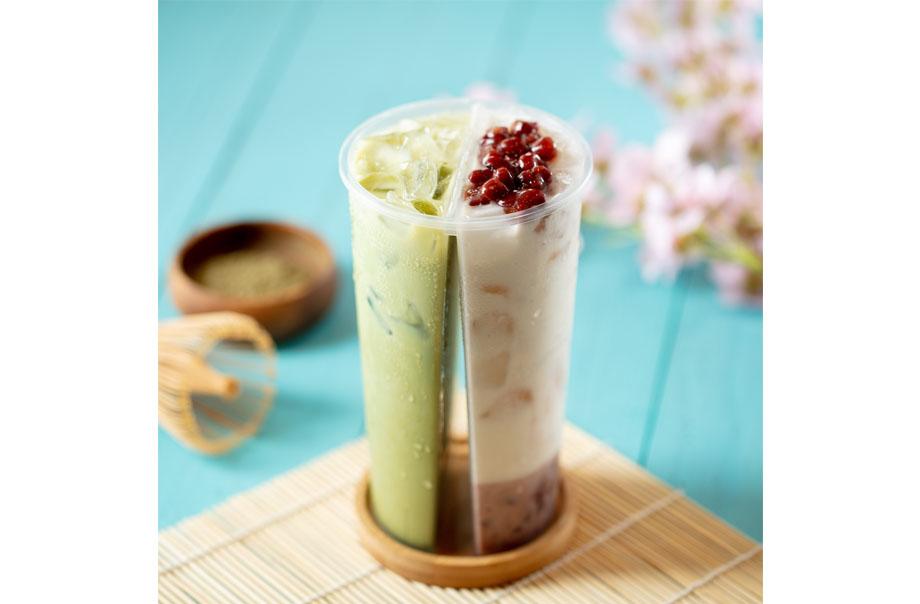 北海道3.6牛乳抹茶及十胜红豆牛乳