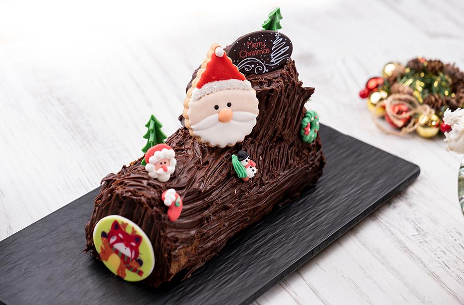 圣诞树头蛋糕
