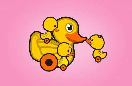 LT Duck Souvenirs
