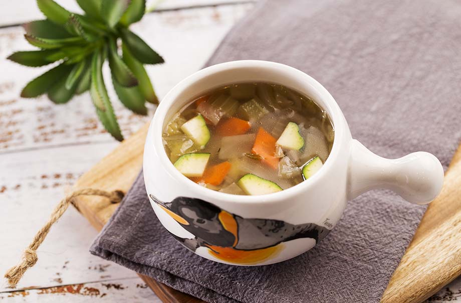 Organic Vegetable Soup with Barley