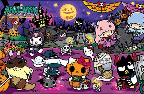 "SmartFun Halloween Fest Preview: Happy ""HELLO-ween"" with Sanrio characters!"