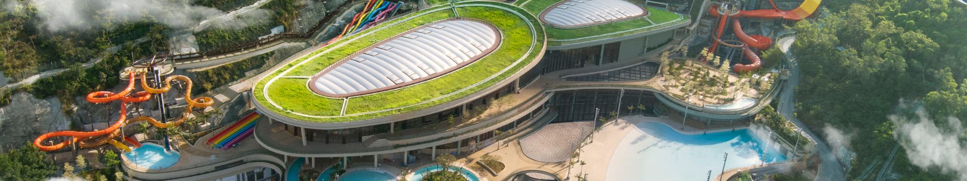 水上樂園:一個全年、全天候開放的世外仙境