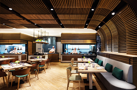 Member Exclusive: 40% Off Marina Kitchen's 'Eat UP' Dining Offer at the Hong Kong Ocean Park Marriott Hotel