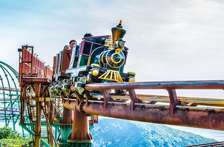 탄광 기차