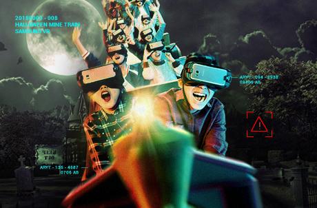 """SAMSUNG GEAR VR 呈献 """"腥""""级版 越矿飞车"""