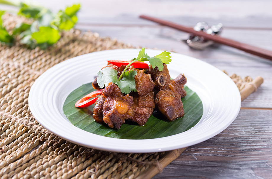 Sweet & Sour Spareribs - Available at Panda Café