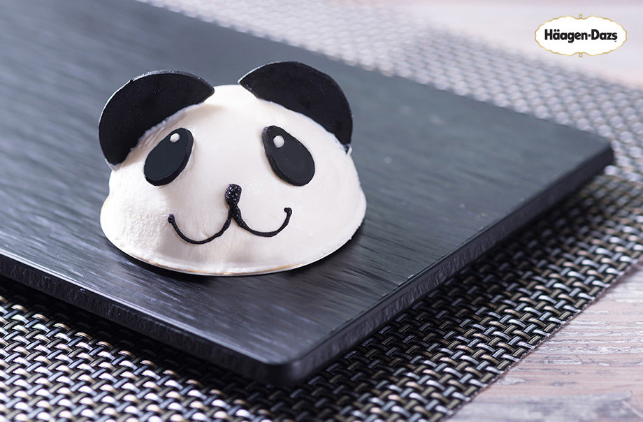 Häagen-Dazs™ Panda Ice Cream - Available at Panda Café