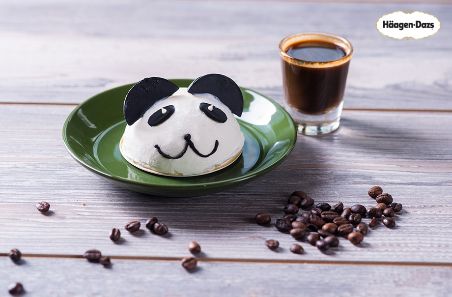 Häagen-Dazs™ Panda Ice Cream With espresso shot - Available at Lakeside Chill - O So Sweet