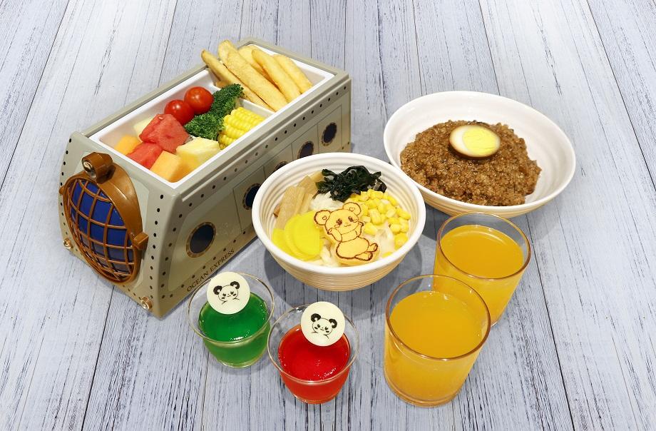 Family Tea Set Menu (Club Panda)
