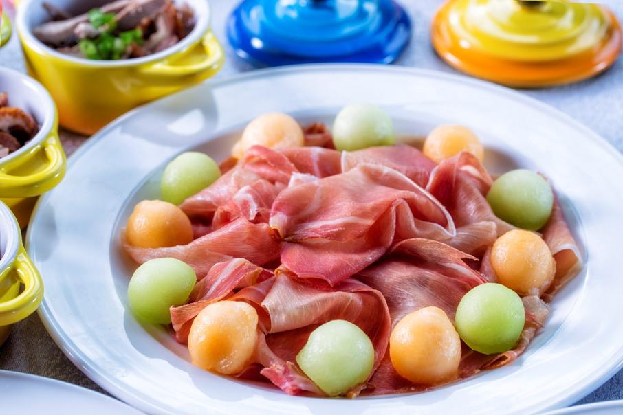 Italian Prosciutto and Golden Melon