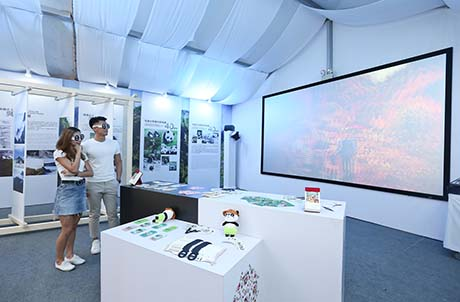 3D Lighting Showcase of Sichuan's Giant Panda Conservation and Traditional Culture