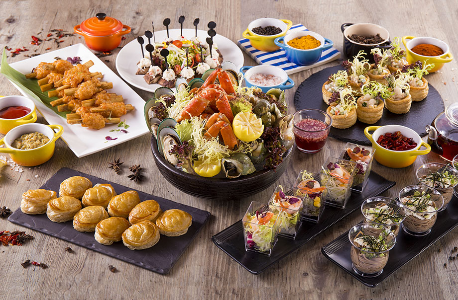 Summer Seafood Delight Semi-Buffet Dinner Package