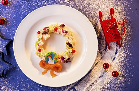 幻彩聖誕晩餐